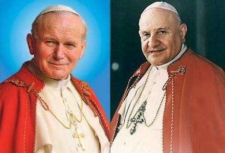 santificazione-papa-giovanni-paolo-ii-e-giovanni-xxiii